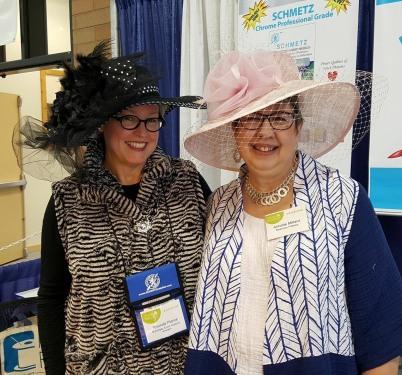 Rhonda & I CNT Jacket at Hat Show