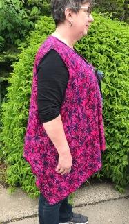 Day 16 side of rayon batik vest