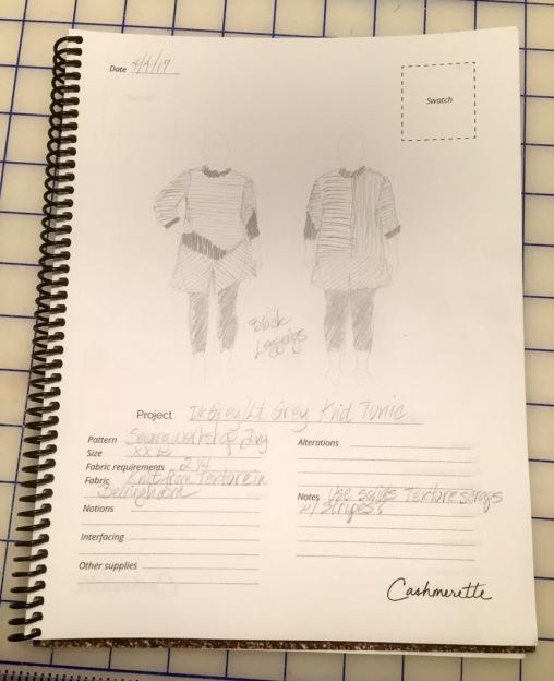 Sketchbook for Ivy