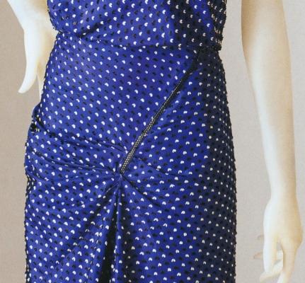 Schiaparelli dress detail