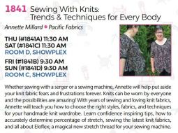 1841 Sewing With Knits