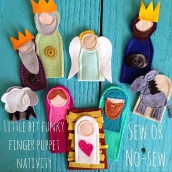 Finger Puppet Nativity