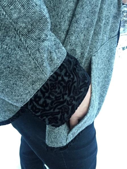 Pocket in snow