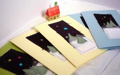 Sew a Christmas Card