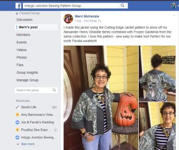 IJ Sewing Pattern Group