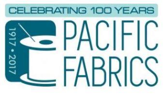 Pacific Fabrics logo