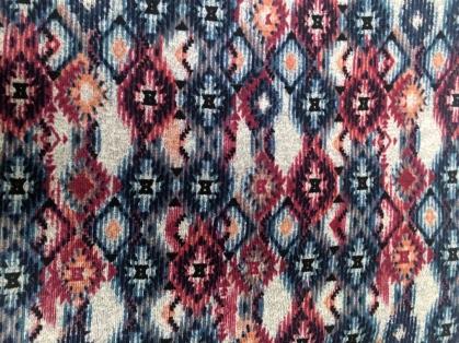aztec fabric close up