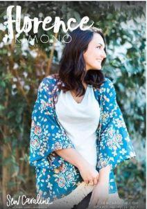 Florence Kimono pattern cover