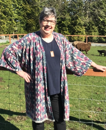 sheep kimono front