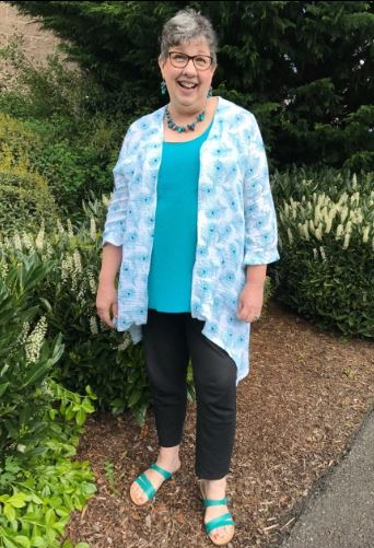 Day 18 Lemon Squeeze Cardigan Feathers 2017