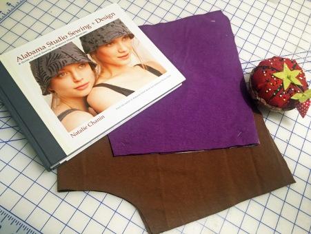 Fabrics with book