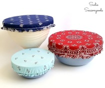 Bandana Bowl Covers