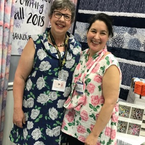 Twinning with Ellen of Shannon Fabrics.