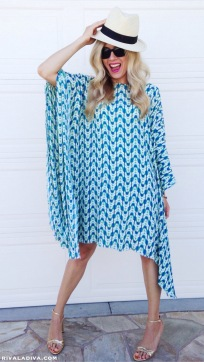 Easy Caftan Dress