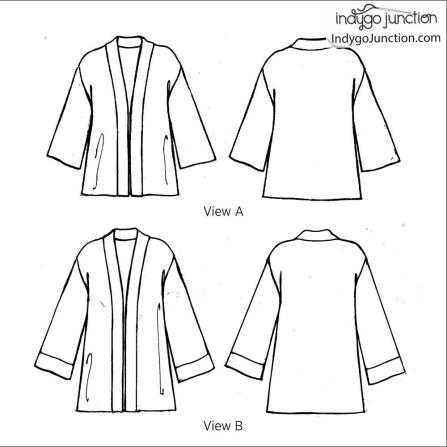 Contemporary Kimono back cover