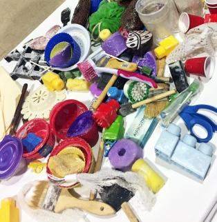 Soy Wax Batik tools